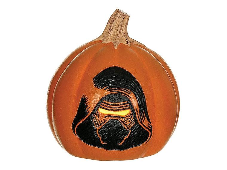 A Kylo Ren pumpkin
