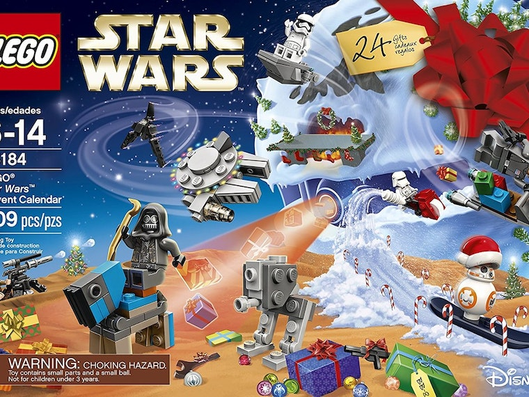 This Advent calendar that mixes Star Wars and LEGOs
