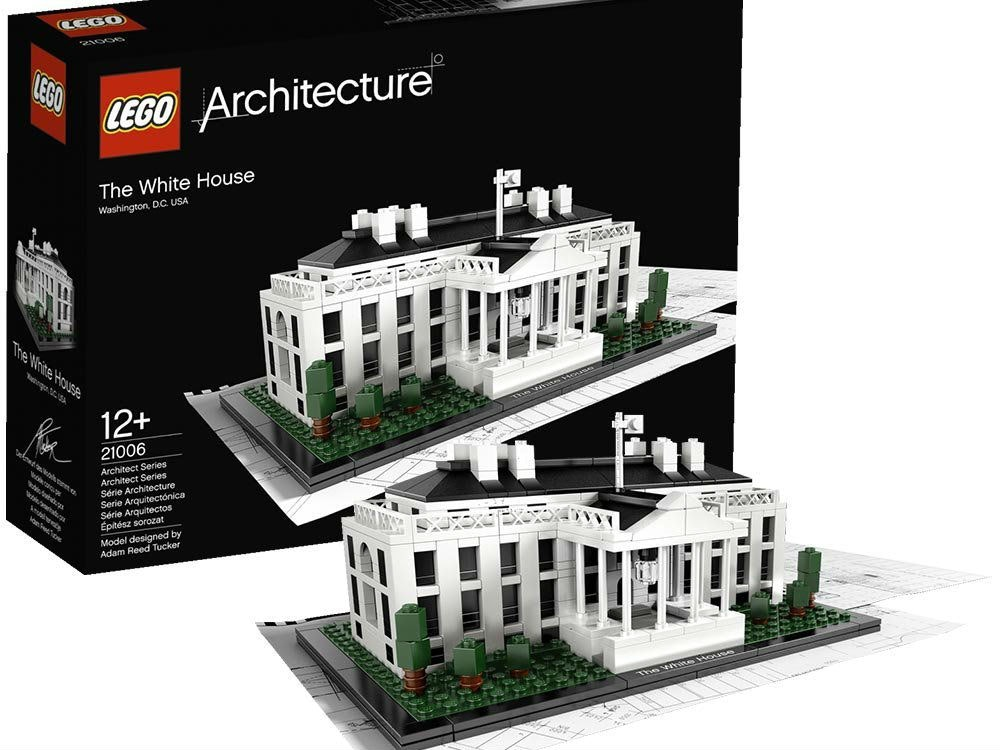 This kit where you build your own Lego White House and become your own Lego president