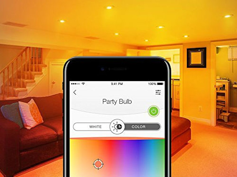 These smart lights that give your home some colorful flair
