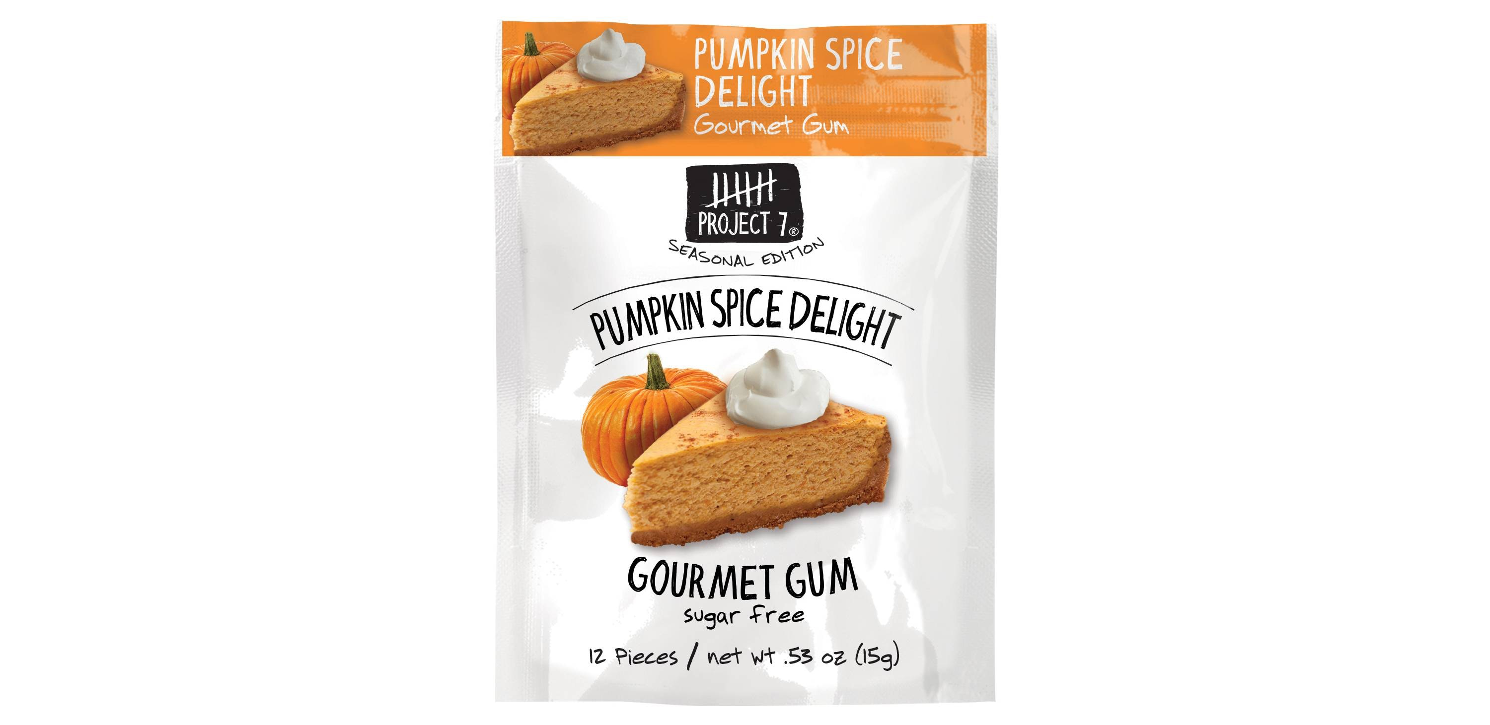 This calorie-free gum that fills your mouth with the flavor of fall