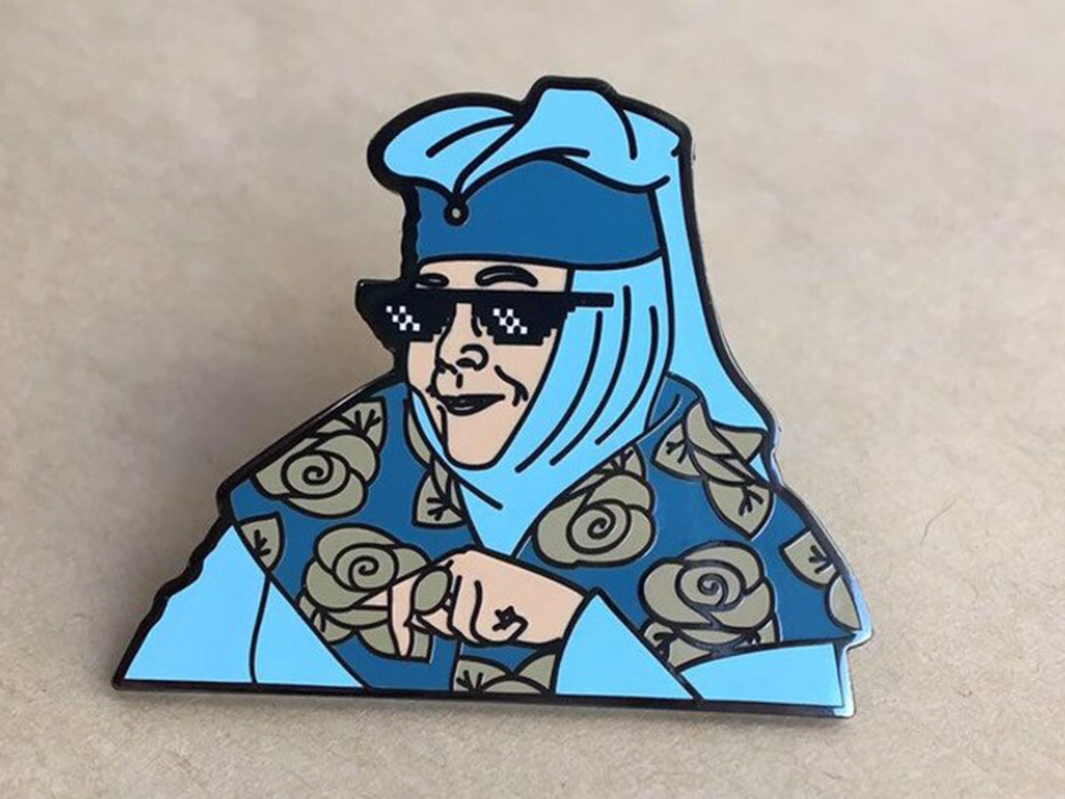 This pin of Lady Olenna that just screams