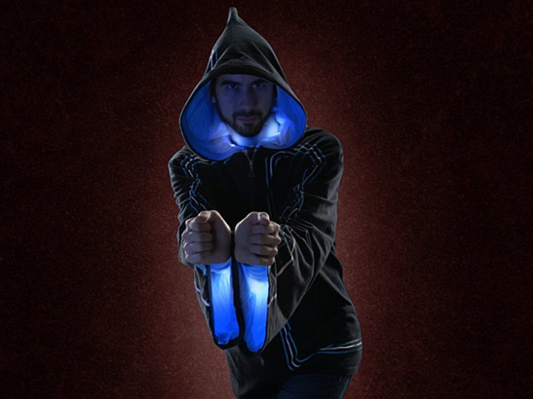 This high-tech hoodie for wizards ONLY 🔮