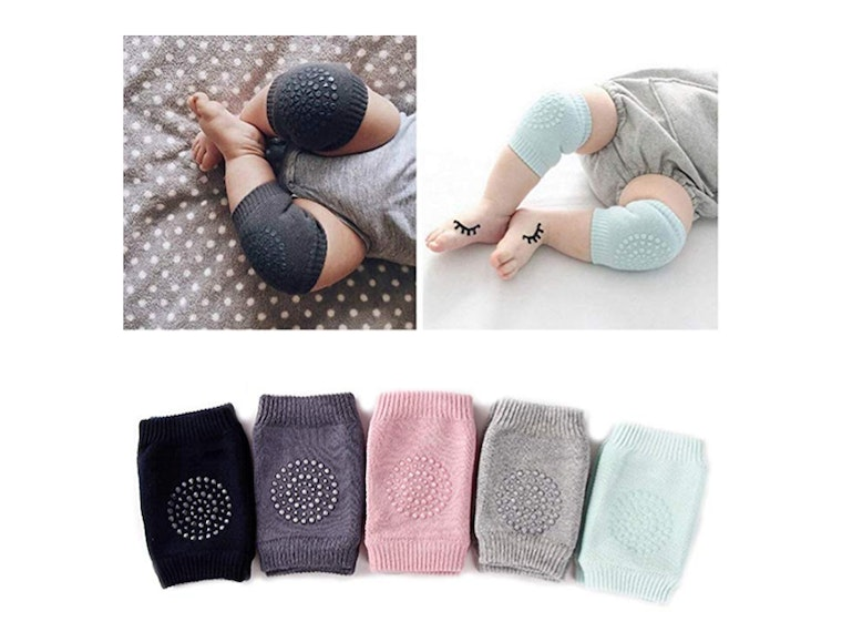 These kneepads for crawling babies