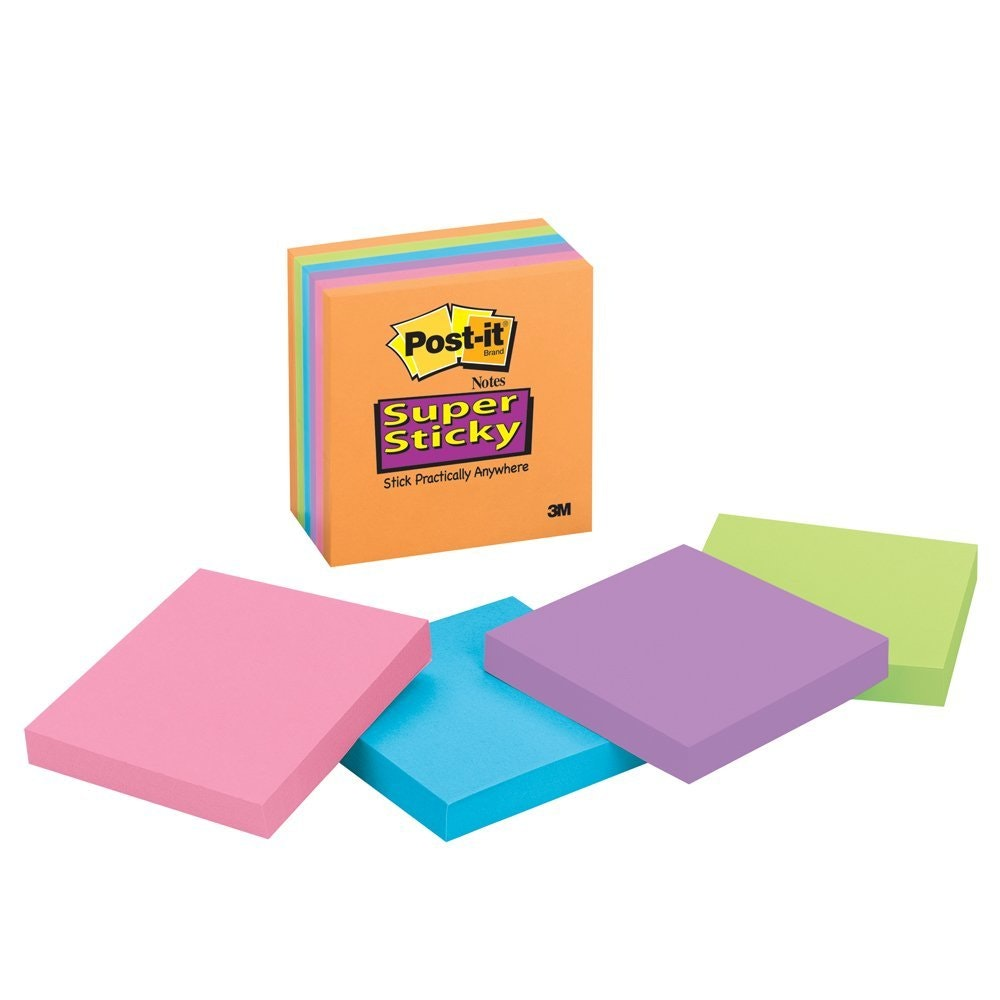 These super stickyPost-it Notes