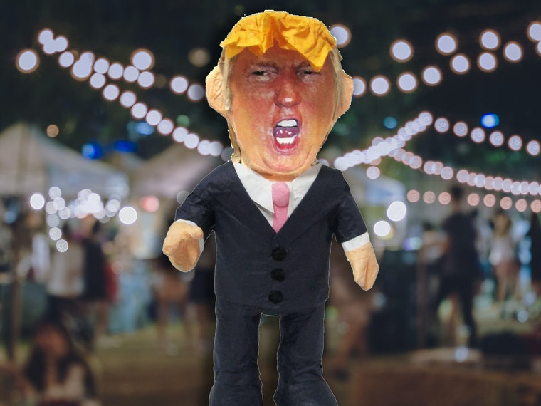 This Trump pinata that'll be a smash hit at your next party
