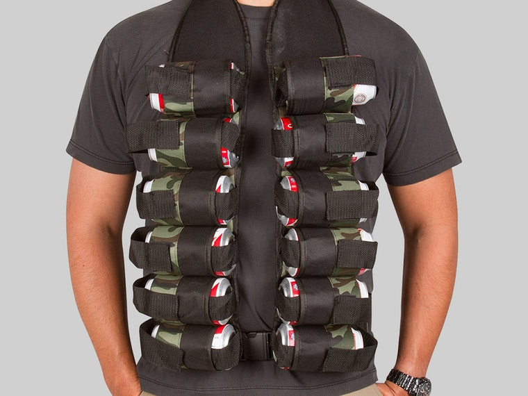This vest for when double-fisting just isn't enough