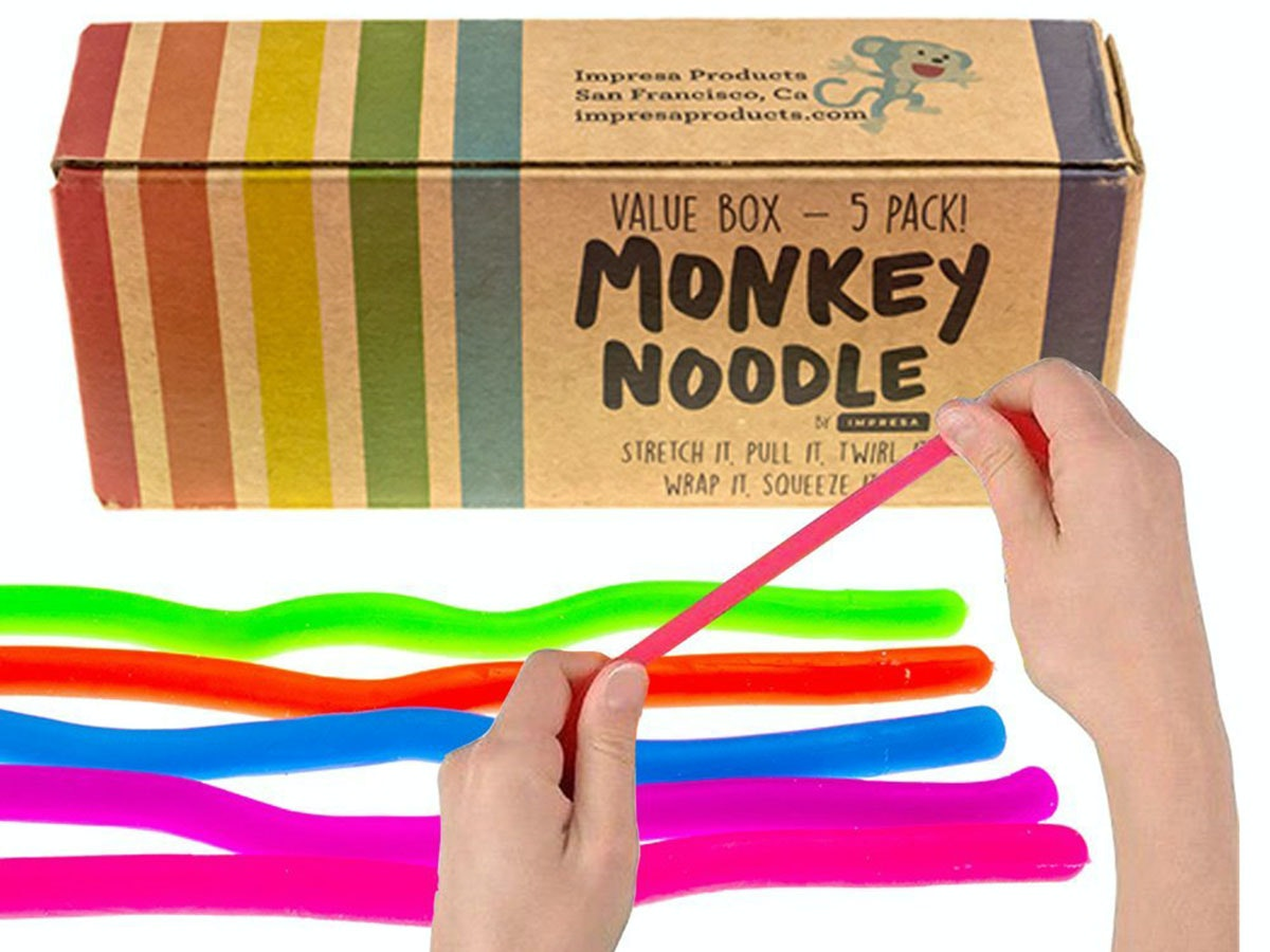 This box full of monkey noodles🐒