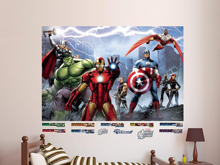 Gigantic Avengers art for your wall