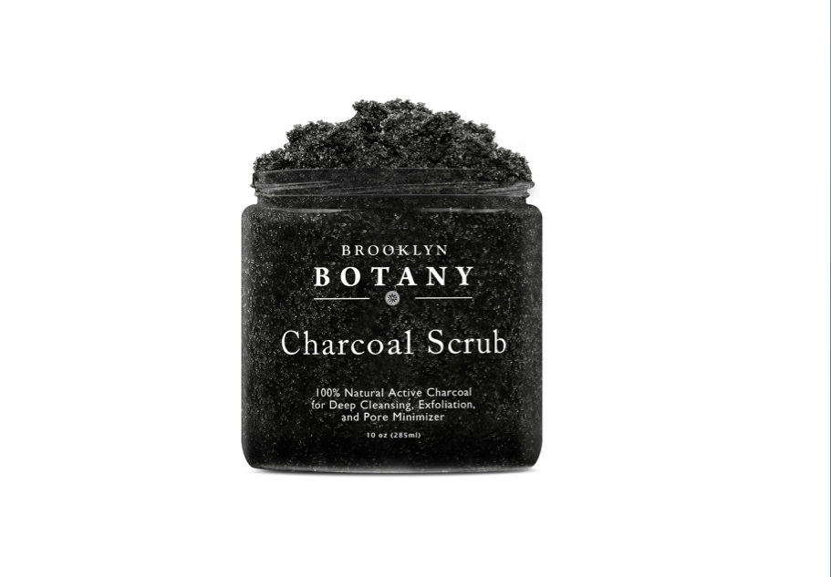 Thisdark and mysterious charcoal scrub