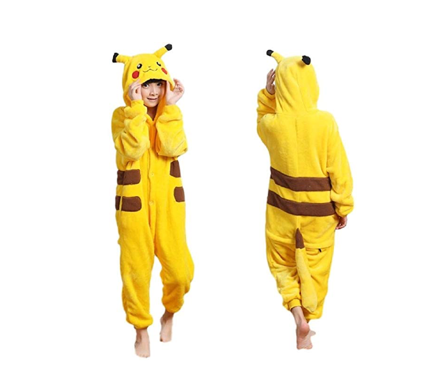 These warm and cuddly Pikachu pajamas