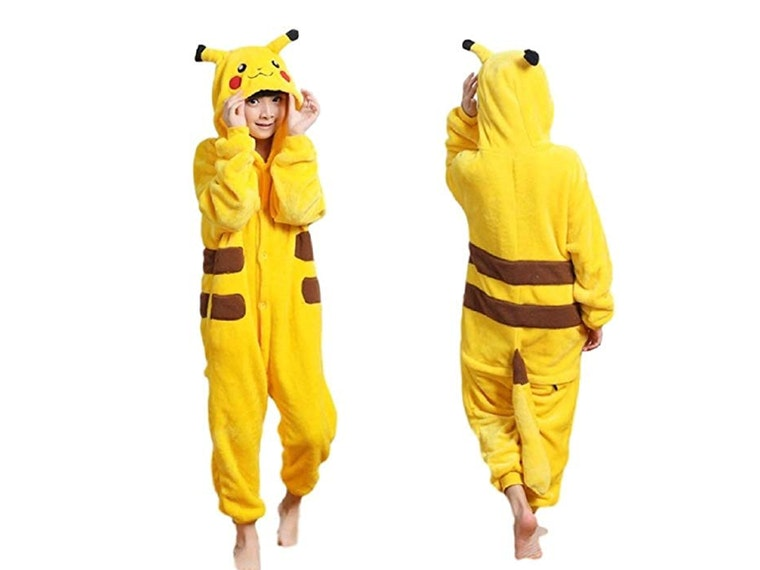 These warm and cuddly Pikachu pajamas
