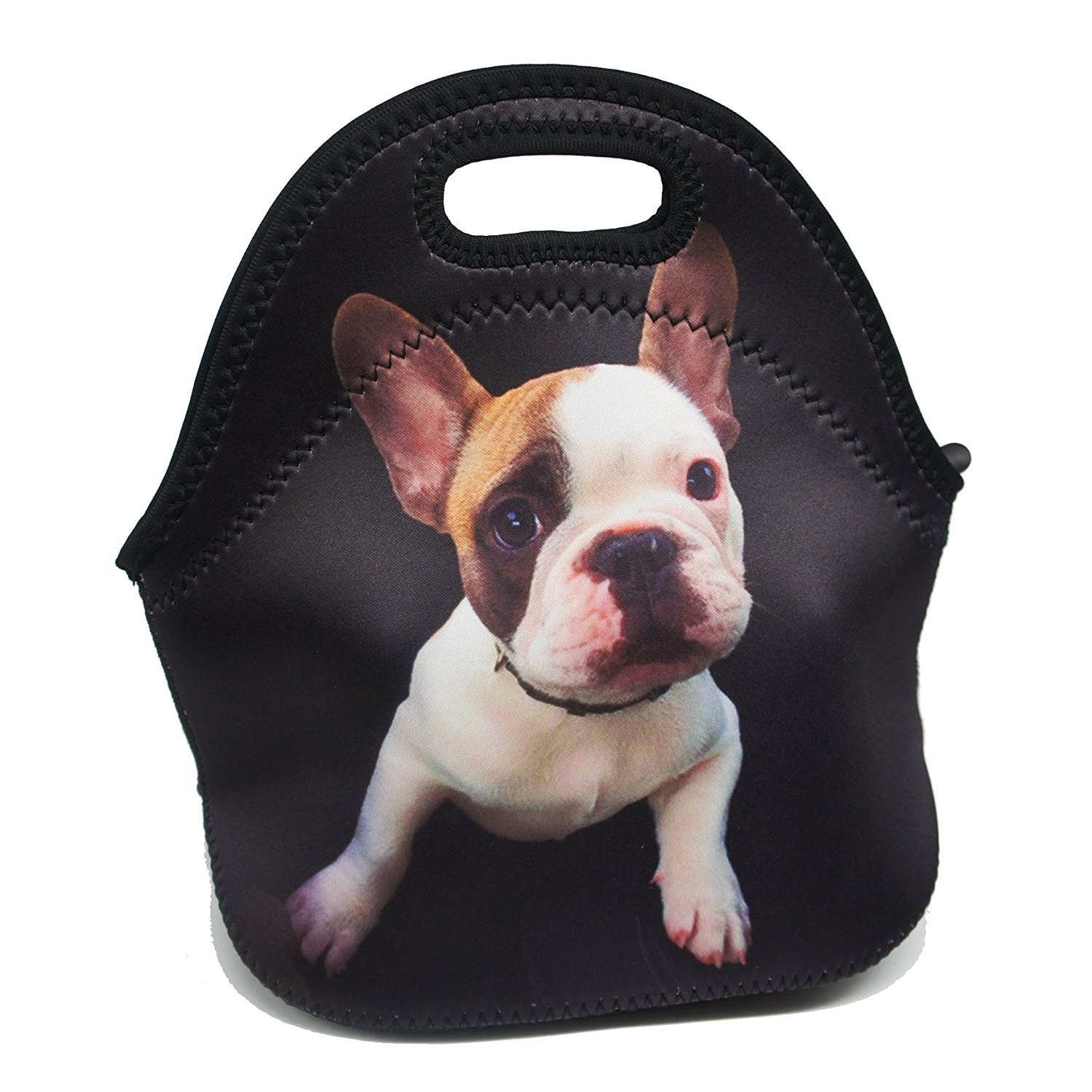 This Frenchie guard dog bag for your lunch
