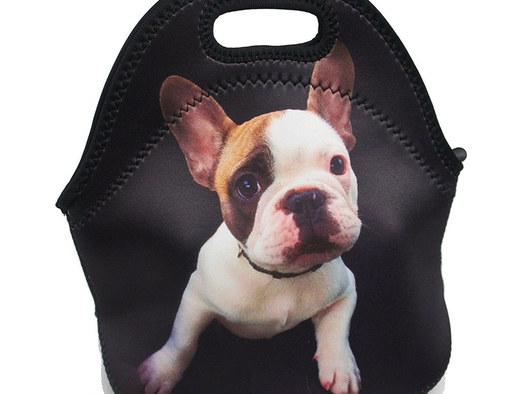 ThisFrenchieguard dog bag for your lunch