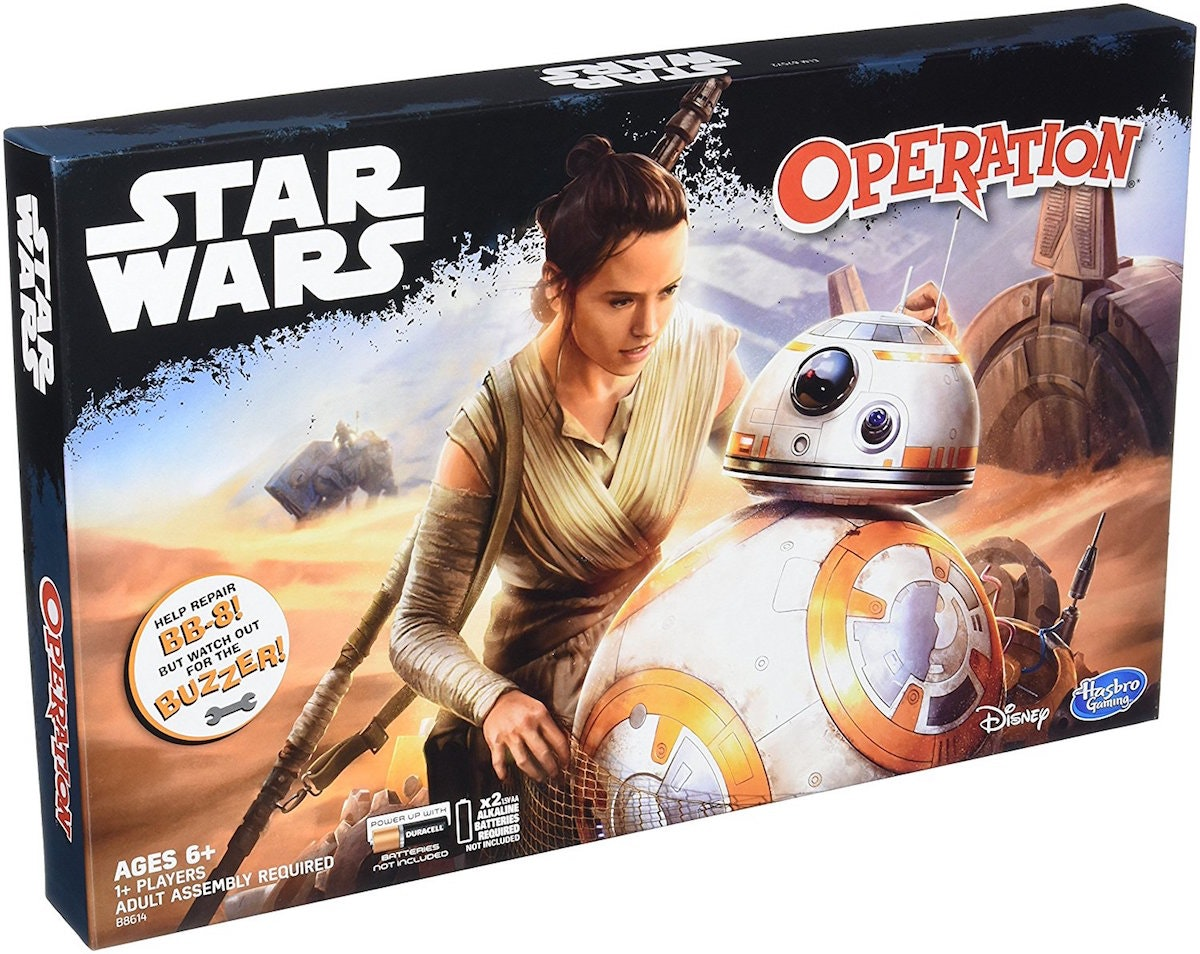 This classic board game with a Star Wars twist