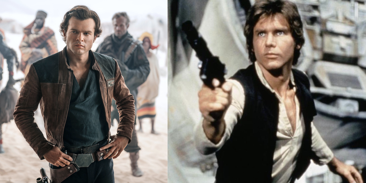 Someone Put Young Harrison Ford Into Solo: A Star Wars Story and It's Ridiculous