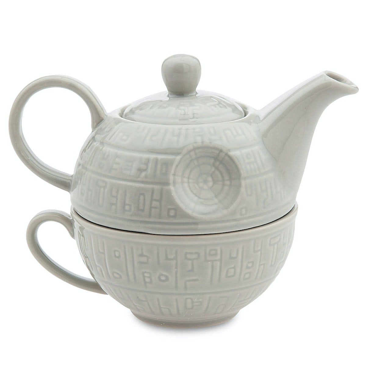 The perfect pot for serving high tea on the Death Star