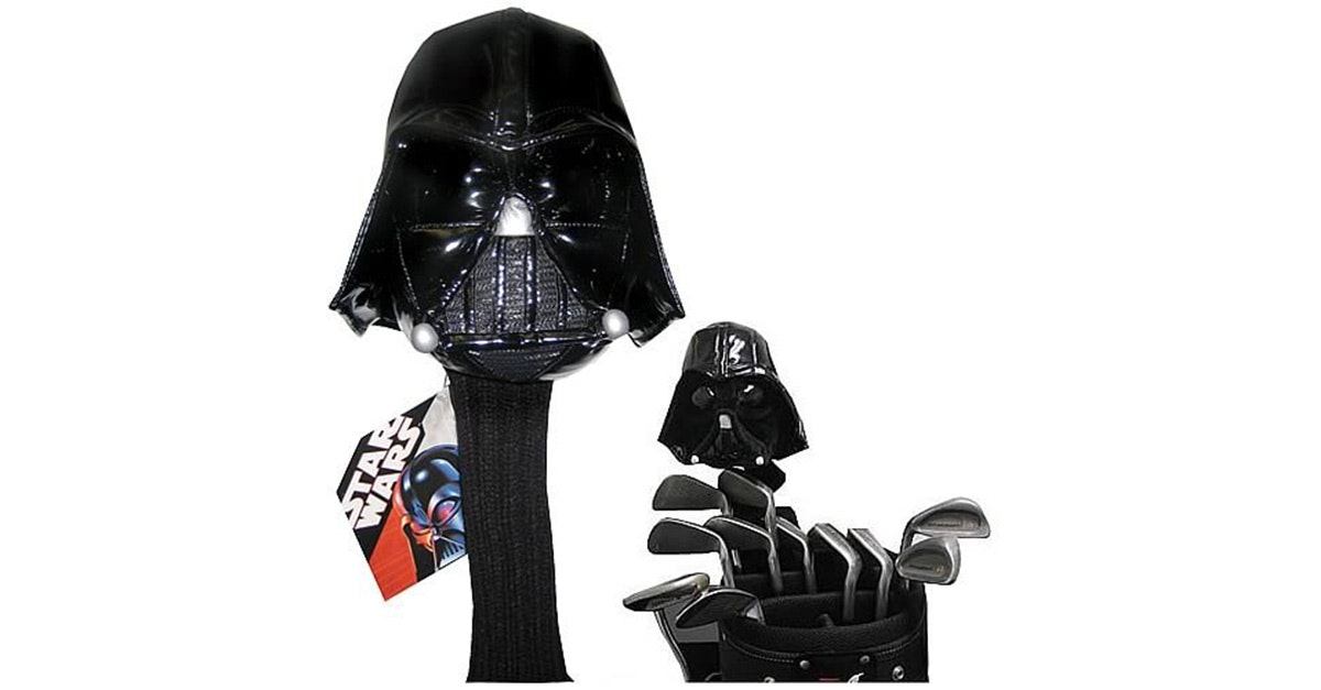 These Darth Vader golf club covers