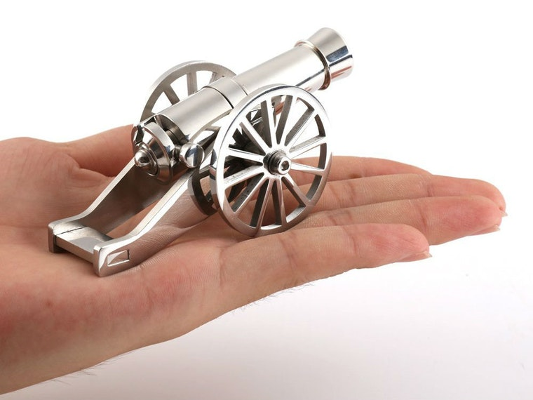 This tiny cannon for when you want to declare an office war