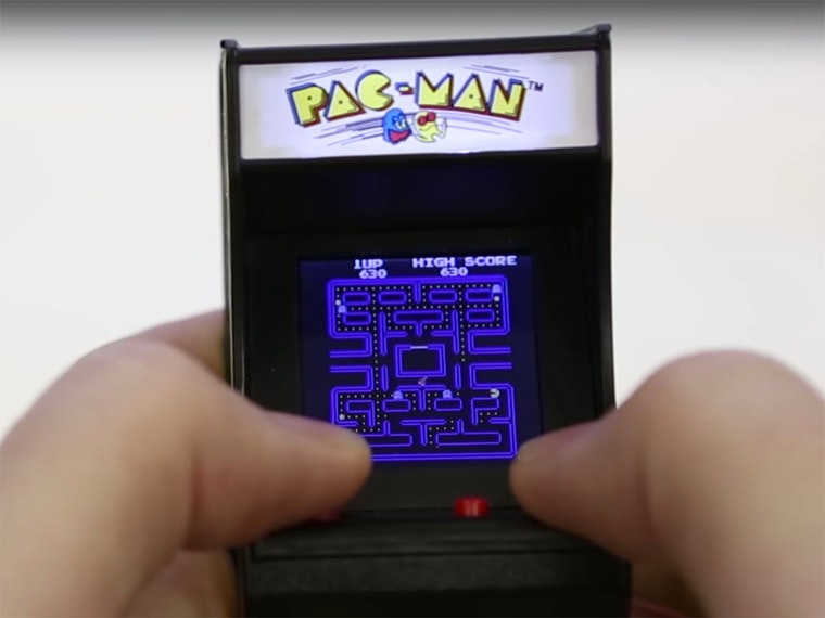 This real, working, 3.5-inch arcade game