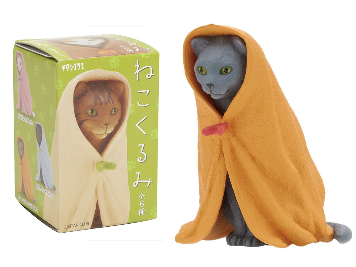These utterly strange cat collectibles