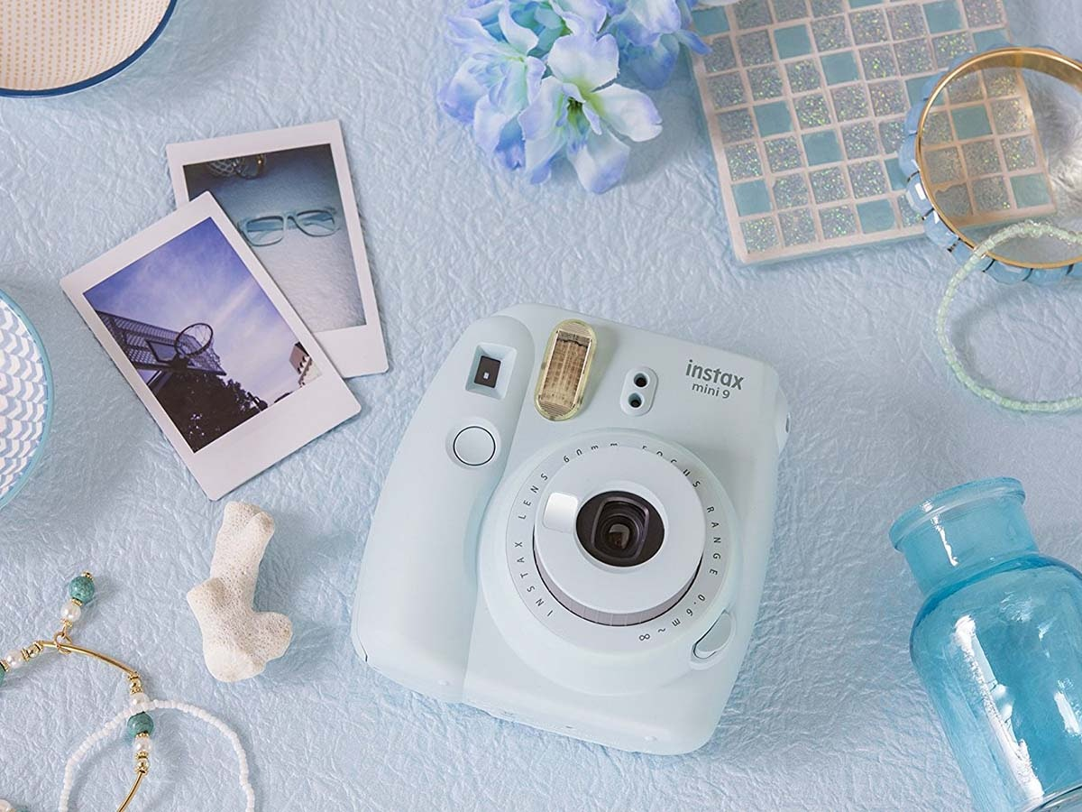 This instant camerathat'smore fun than a guest book