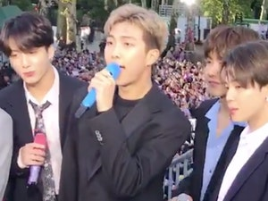 BTS Launches Good Morning America's Summer Concert Series: Watch This!