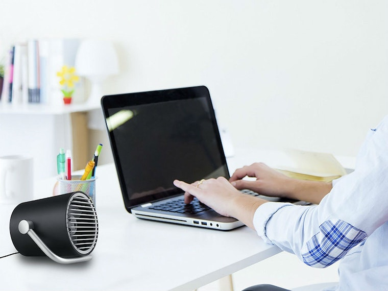 This breezy USB fan for those sweltering summer workdays