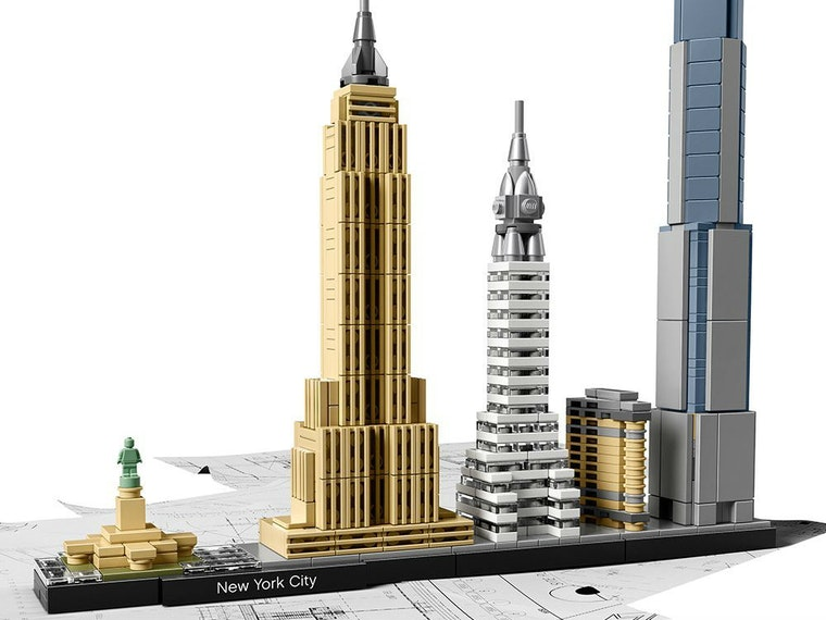 This New York-themed LEGO set for grownups