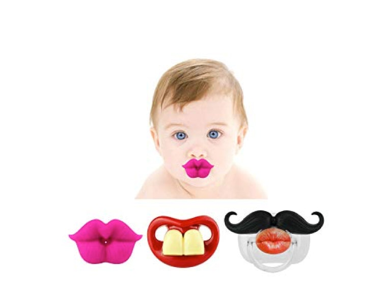 These hilarious pacifiers