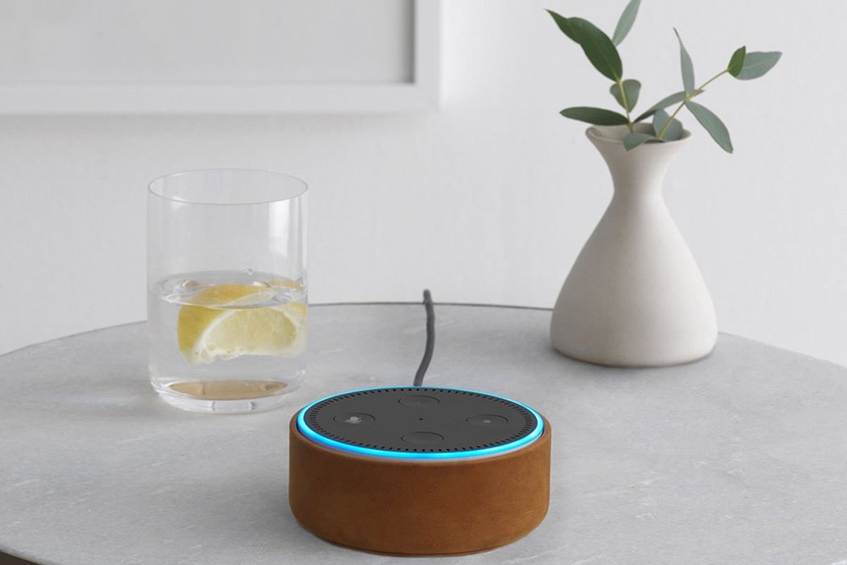 Give your Amazon Echo Dot a stylish makeover with a new case