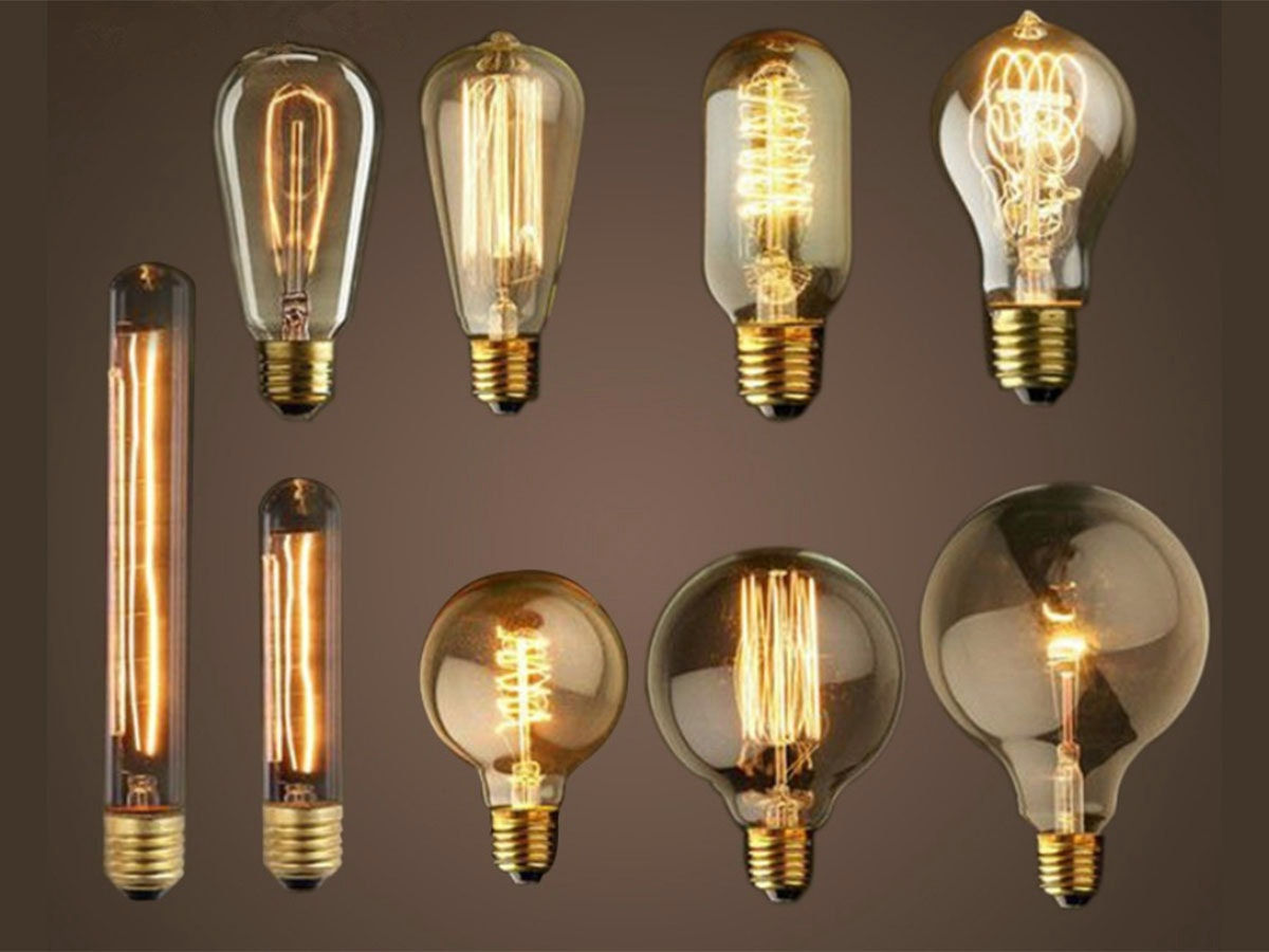 These Edison-style bulbs to class up your decor