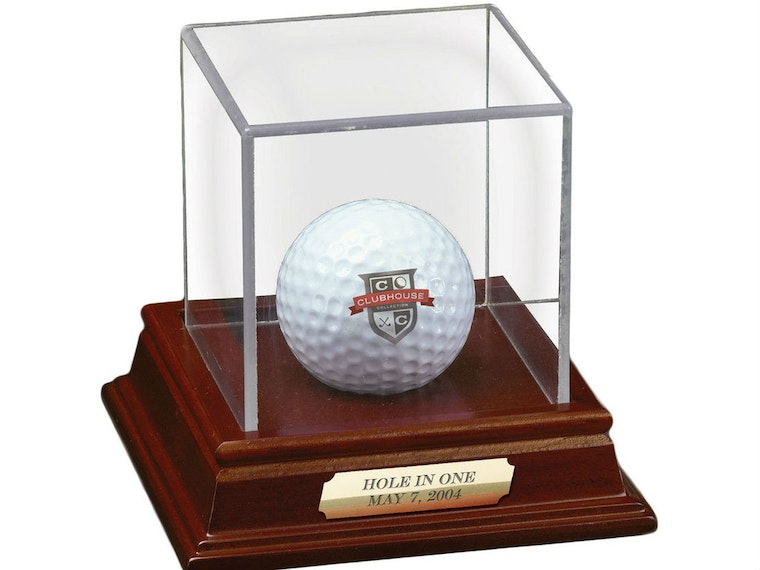 This trophy case for when you truly master mini-golf