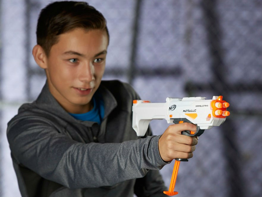 This Nerf gun for beginners