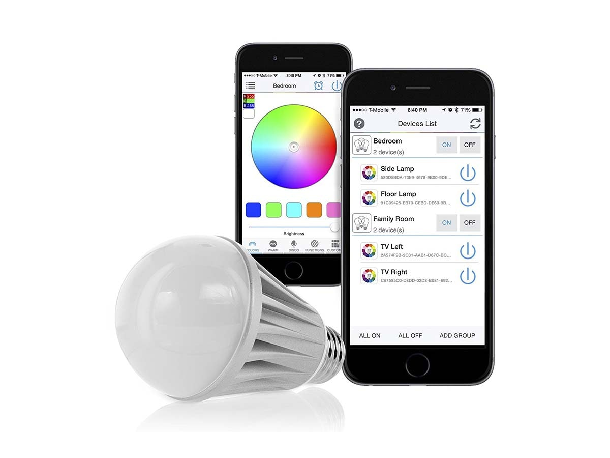 Make the switch to LED smart lights 💡