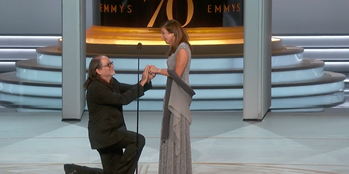 Director Glenn Weiss Proposed at the Emmys and the Internet Believes in Love Again