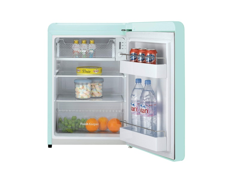 A tiny fridge for small spaces