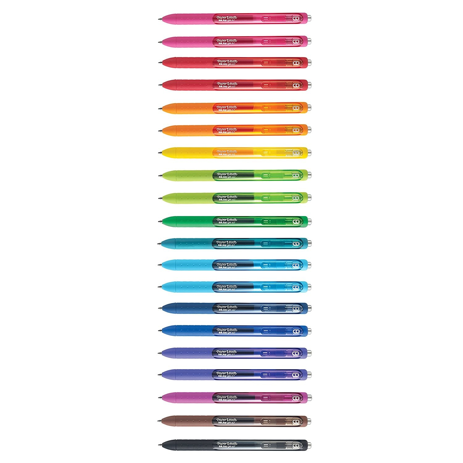 These great rainbow gel pens