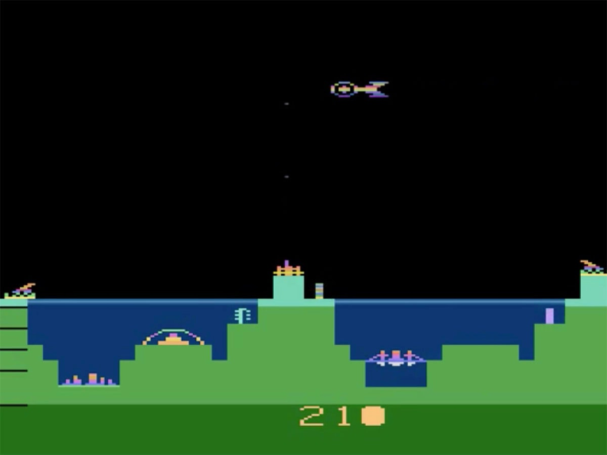 Atlantis II, an Atari game made solely to settle a tie 👾