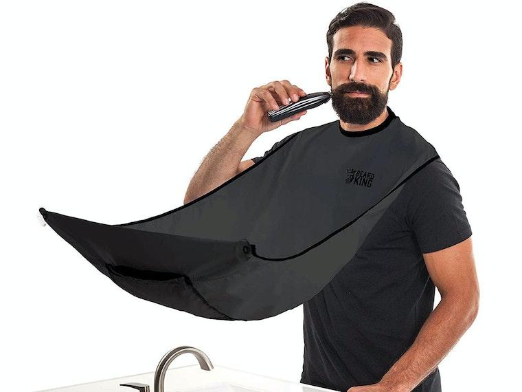 This genius beard bib that's a Shark Tank favorite