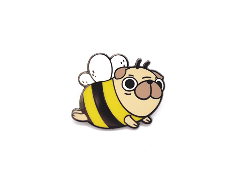 This dog pin that's generating a lot of buzz 🐝