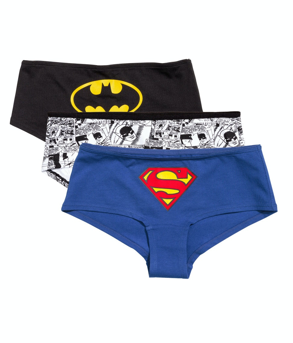 These inexpensive undies for superheroes