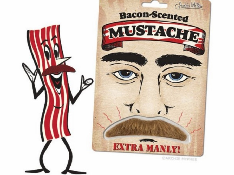 This brilliant disguise that fills your nostrils with the delectible scent of bacon