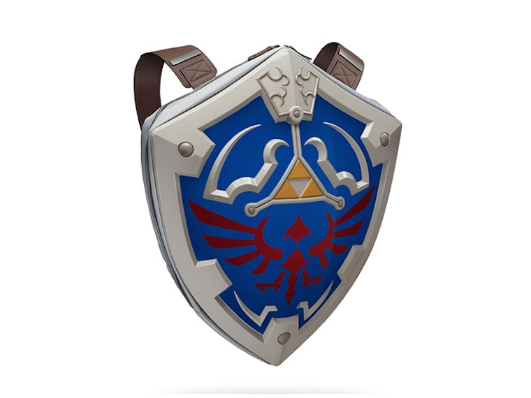 This backpack for when it's dangerous to go alone! ⚔️🛡️