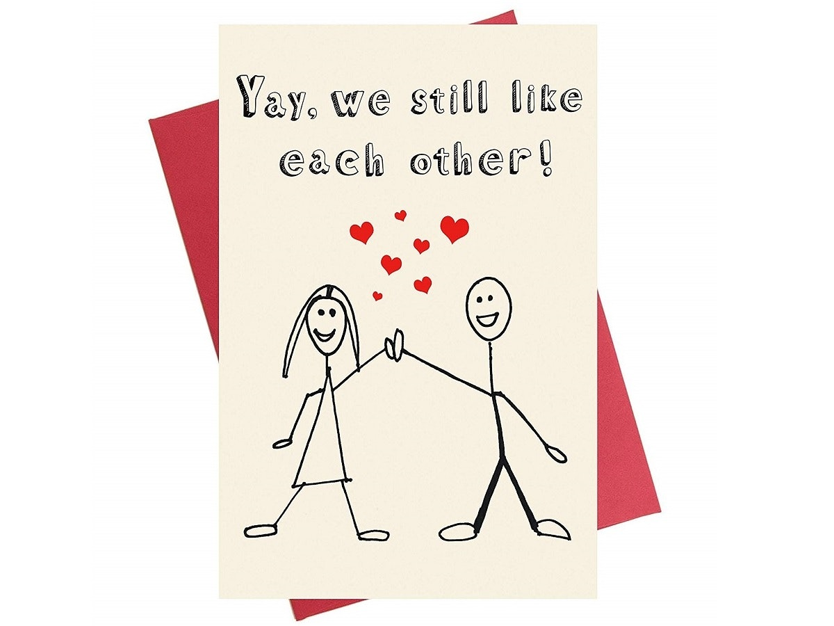 A Valentine's Day card that doesn't get too mushy