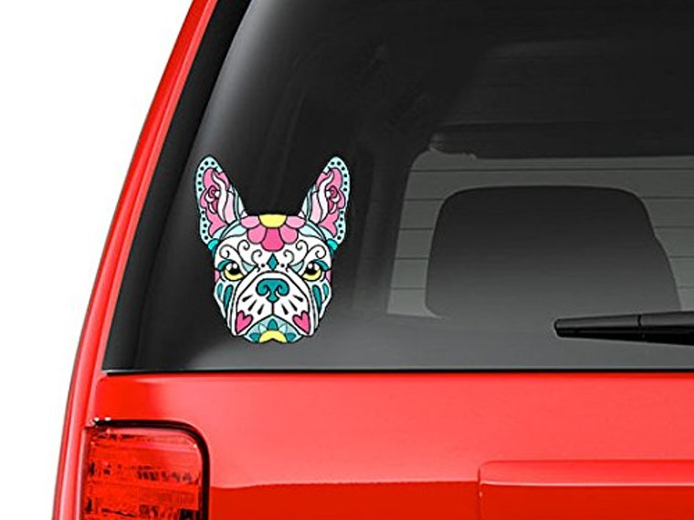 Thiscandy-colored sticker for your car