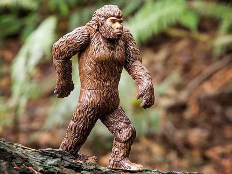 This sensational, poseable Sasquatch