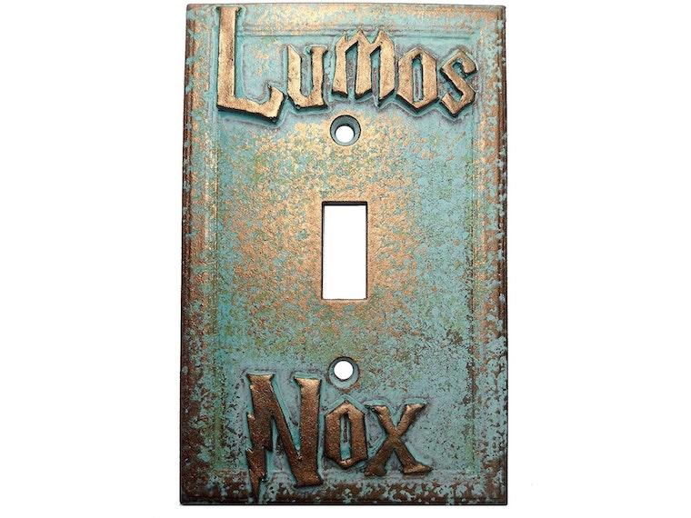 A Harry Potter-friendly light switch