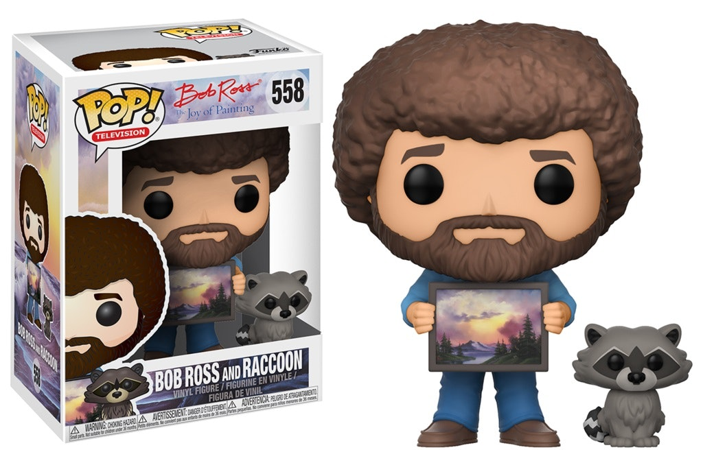 This happy little Funko Pop of the world's best painter