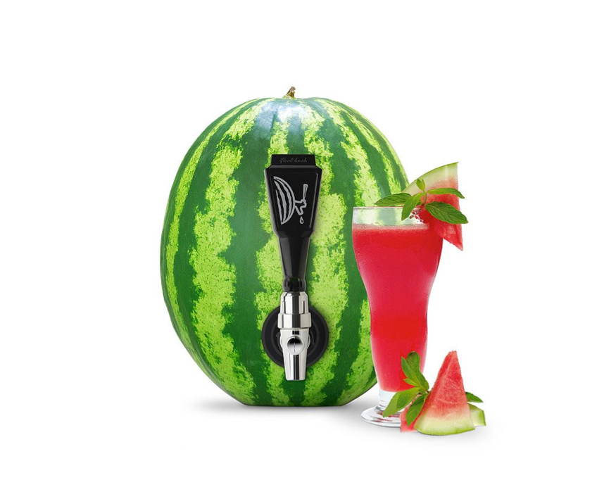 This tap that turns a watermelon into a keg🍉